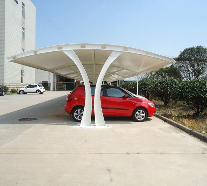 膜结构车棚能使用多长时间?它的使用寿命和这些因素有关!